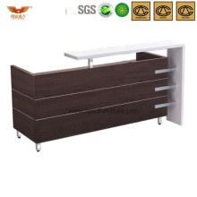 Modern Stylish Popular Office Furniture Front Desk (HY-Q28)