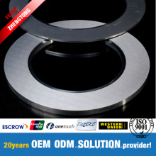 Lâmina redonda de aço enrolada da máquina de corte para os processadores de aço
