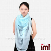 100%cashmere fashion square scarf 2014 light color scarf