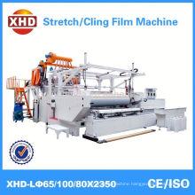best quality three layer stretch film wraping machine