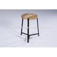 Tablero lateral industrial de la madera