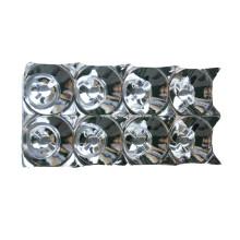 Revestimento de alumínio de plástico LED Iluminação Lâmpada-Chaminé