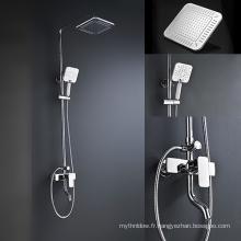 Robinet de douche en laiton de robinet de corps de douche en laiton caché mélangeur de douche de Bath pour le système de douche de salle de bains