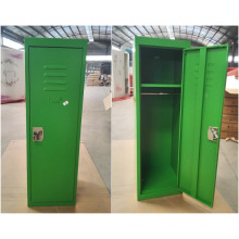 Knock down green color kids mini metal locker