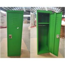 Derrubar cor verde crianças mini armário de metal