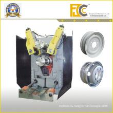 Гидравлическая автоматическая Настраиваемая бескамерная формовочная машина для колесных дисков