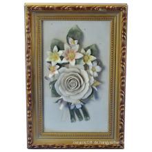 Blumenrahmen Handwerk Keramik 2380