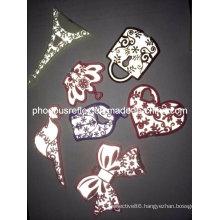 5cm Safety Badge/Reflective Badge/Glow-in-Dark En13356