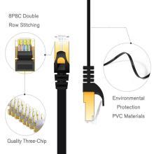 Câbles de communication Cat7 Jumper Câble patch plat