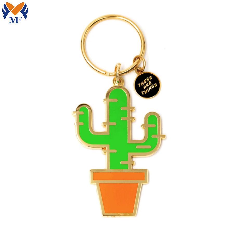 Cactus With Split Key Ring