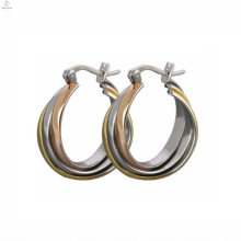 Wholesale Famous Brand Beautiful Stainless Steel Earrings Jewelry