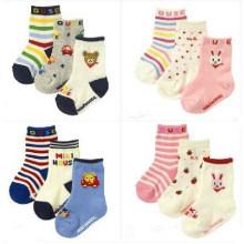 Chaussettes enfants en coton pour enfants (KA034)