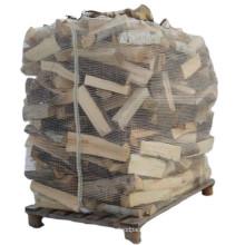 High Quality Breathable Firewood Carrier Bulk Mesh PP Big Bag For Packing Wood Bulk Ventilated Firewood Bag Net