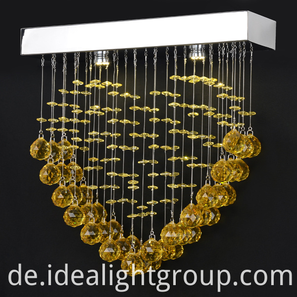 customized gold chandelier