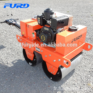FYL-S600C Small Weight Double Drum Hand Pushed Road Roller Small Weight Double Drum Hand Pushed Road Roller Fyl-S600C