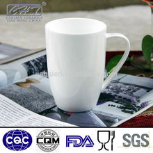 Super white royal fine bone china coffee mug