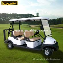 48В 6 местный электрическая тележка гольфа, электрический гольф-багги автомобиль, автомобиль электрический скутер