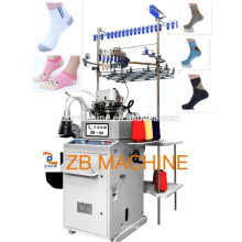 single cylinder 3.75 terry and plain sock knitting machine