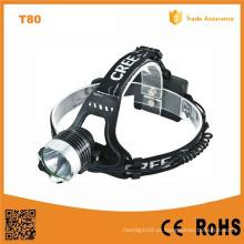 10W CREE Xm-L T6 Farol de LED de alumínio (POPPAS-T80)
