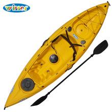3.11m Único plástico sentam-se na canoa superior do Kayak da pesca