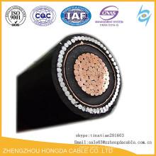 Среднего напряжения медного/алюминиевого проводника стальной проволоки/ленты бронированный силовой кабель 70мм2 95mm2 120мм2 150mm2 185mm2 240 мм 2 300 мм 2