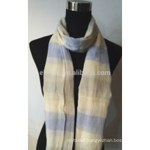 100% Cotton Yarn Dyed Stripe Scarf