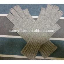 OEM Women High Quality Fingerless Cashmere Gloves
