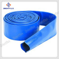 Blue Flexible PVC Lay Flat Pipe