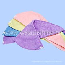 Полотенце для сушки волос из микрофибры (SS044)