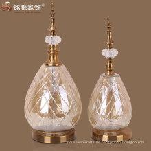 Glas Metall Handwerk Glas Vase mit Metall Basis und Deckel Handwerk Metall Glas Handwerk