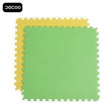 Leaf Pattern Green Color Grappling Eva Foam Mat