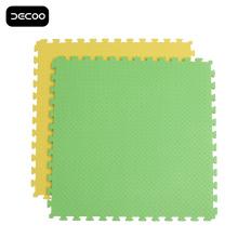 Leaf Pattern Green Color Grappling Eva Foam Mat