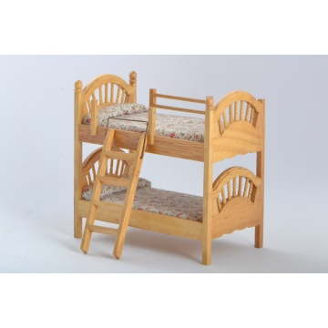 Dollhouse Miniature Bunk bed