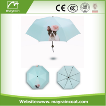Customized Cheap Promotion Folding Umbrella para Vending
