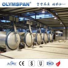 ASME standard cement block autoclave