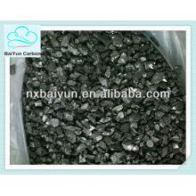 Carbono recarburizante de grafite puro para fabricação de aço