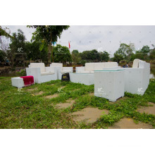 2017 Elegant Design PE Rattan Sofa Set Outdoor Furniture