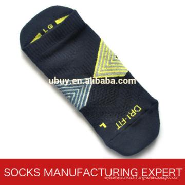 Chaussette de cheville à compression professionnelle en nylon pour hommes