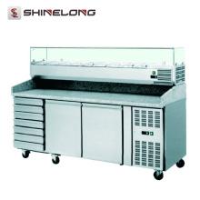 R272 Pizza Prep Table Refrigerator