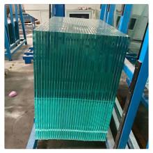 Panneaux en verre trempé clair à faible teneur en fer