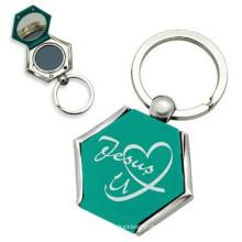2014 Kundenspezifisches Metall Keychain mit Spiegel (M-100)