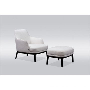 Leisure chair with ottoman
