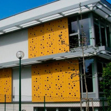 Laser Cut Panels for Architectural Cladding