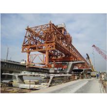 240t-40m Partes separadas del puente que lanza la grúa de pórtico (JQ-01)