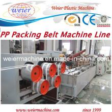 Linha de extrusão de fabricação de correias de embalagem PP