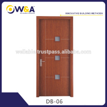 Wood Entrance Door Factory,Cheap Interior Wooden WPC Door
