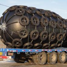 Pára-choques de borracha pneumática marinha do certificado de CCS e de ISO