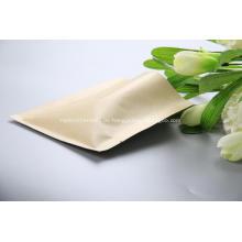 Kraftpapier 3 Seitensiegelbeutel mit Ventil
