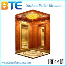 Ce professionnel et bon décorateur d'ascenseur sans chambre de machines