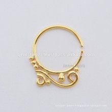 Wholesale Ethnic Septum Nose Ring Body Jewelry, Suppliers Septum Designer Silver Nose Ring